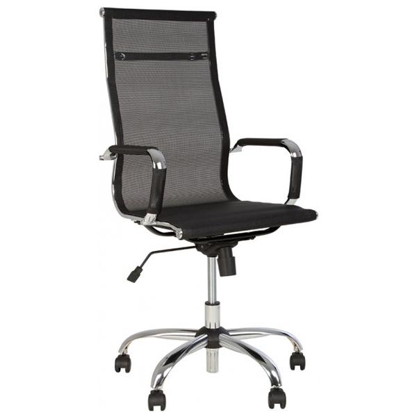 Кресло офисное Nowy Styl Slim HB NET Tilt CHR68 T-01