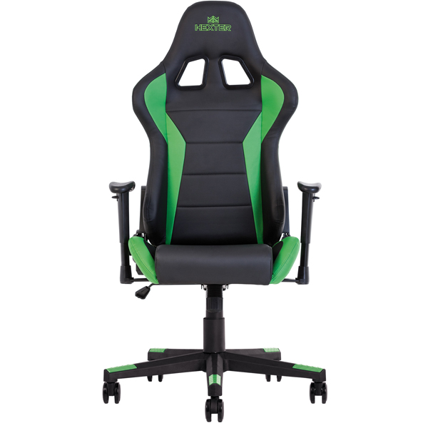Геймерское кресло Nowy Styl Hexter ML R1D Tilt PL70 ECO/01 Black/Green