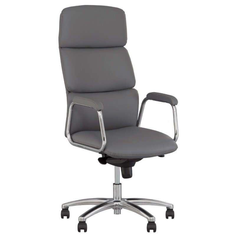кресло для руководителя NOWY STYL CALIFORNIA STEEL CHROME ECO-30