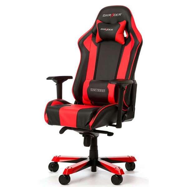 Кресло игровое DX Racer OH/KS06/NR, Черный-красный