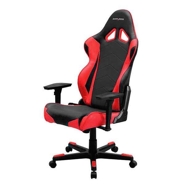 Кресло игровое DX Racer OH/RE0/NR, Черный-красный