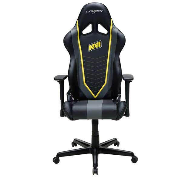 Кресло игровое DX Racer OH/RZ60/NGY, Чёрно-серый