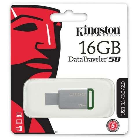 USB накопитель Kingston Data Traveler 50 (DT50 / 16Gb)