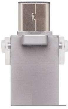 USB накопитель Kingston  DataTraveler microDuo 3C (DTDUO3C/64GB)