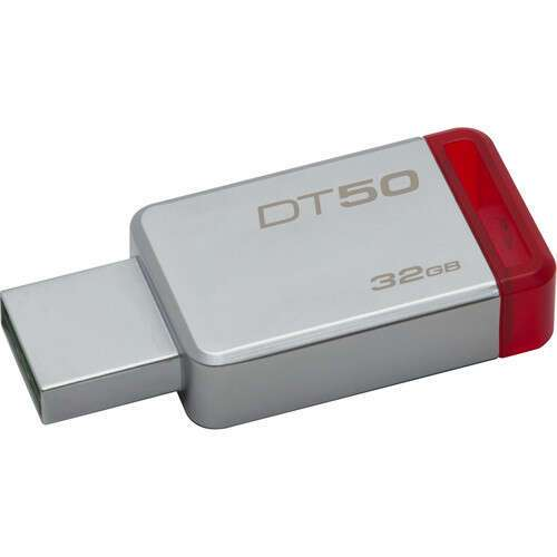 USB накопитель Kingston DataTraveler 50 32 Гб (DT50/32GB)