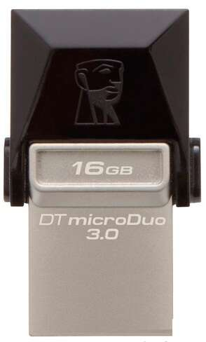 USB накопитель Kingston Data Traveler microDuo (DT DUO3/16GB)