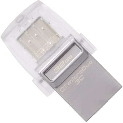 USB накопитель Kingston DTDUO3C/32GB OTG TypeC USB 3.1