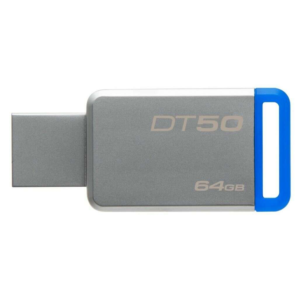 USB накопитель Kingston DataTraveler 50 64 Гб (DT50 / 64GB)