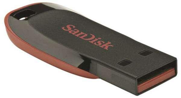 USB накопитель SanDisk Cruzer Blade 16GB (SDCZ50-016G-B35)