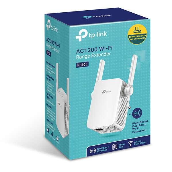 Усилитель Wi-Fi сигнала TP-Link RE305 AC1200
