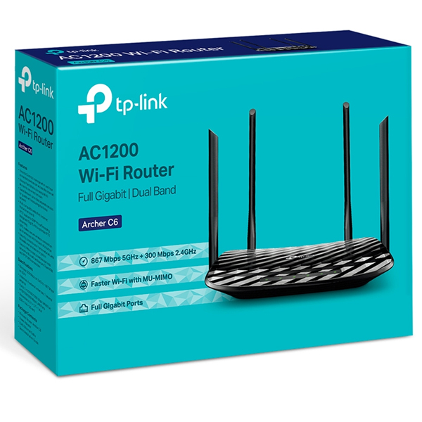 Маршрутизатор TP-LINK ARCHER C6 (AC1200)