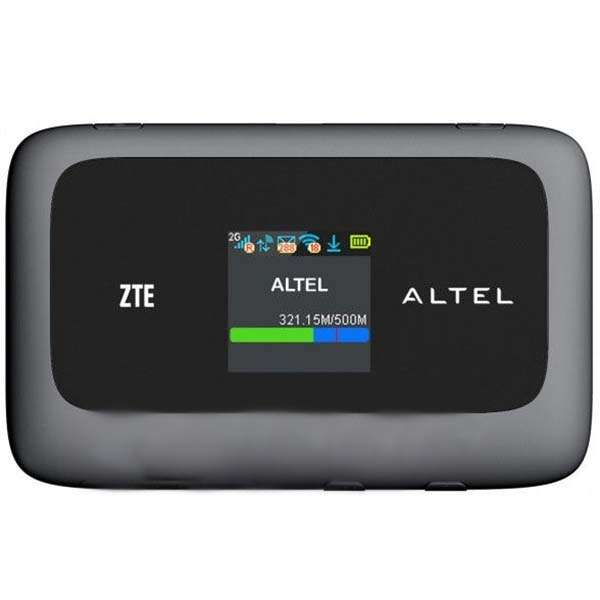 Модем ZTE  4G Mi-Fi  + Sim 3GB/Altel MF93D или MF910L