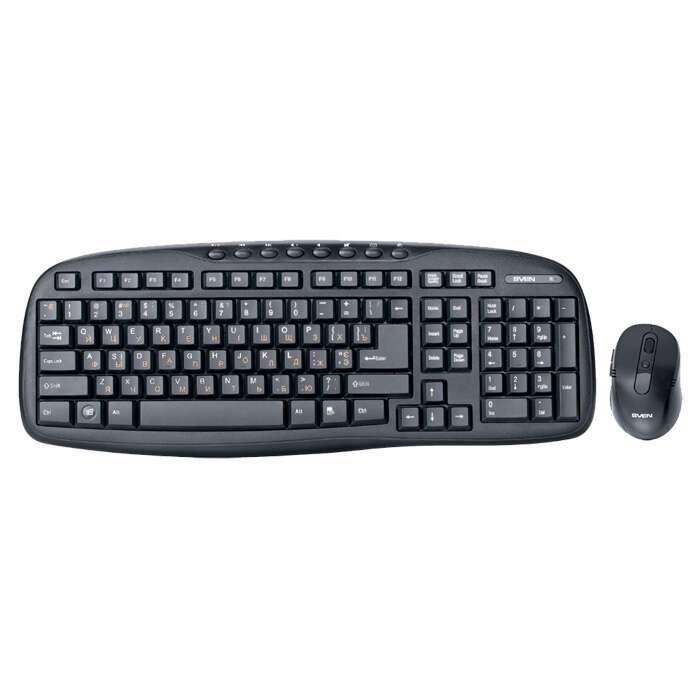 Беспроводная клавиатура+мышь Sven Comfort 3400