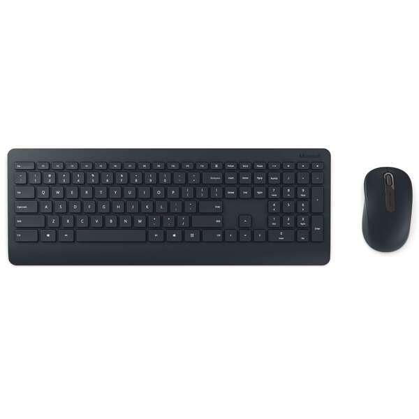 Беспроводной комплект (клавиатура+мышь) Microsoft 900 Black PT3-00017