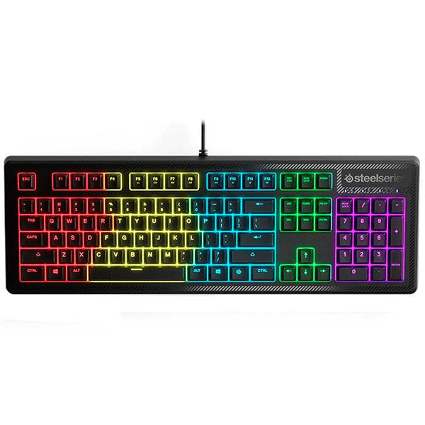 Клавиатура игровая проводная SteelSeries Apex 150, 64666, Чёрный