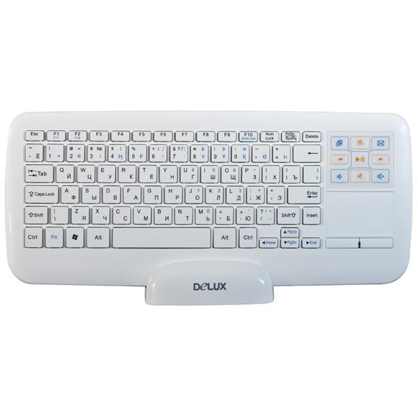 Беспроводная клавиатура Delux DLK-2880GW