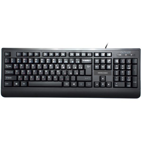 Проводная клавиатура Delux DLK-6010UB