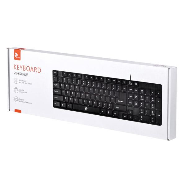 Проводная клавиатура 2E-KS106UB