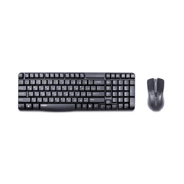 Комплект беспроводная Клавиатура + Мышь Rapoo X1800