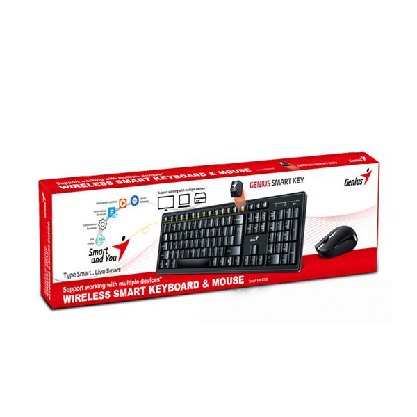 Комплект беспроводная Клавиатура + Мышь Genius Smart KM-8200