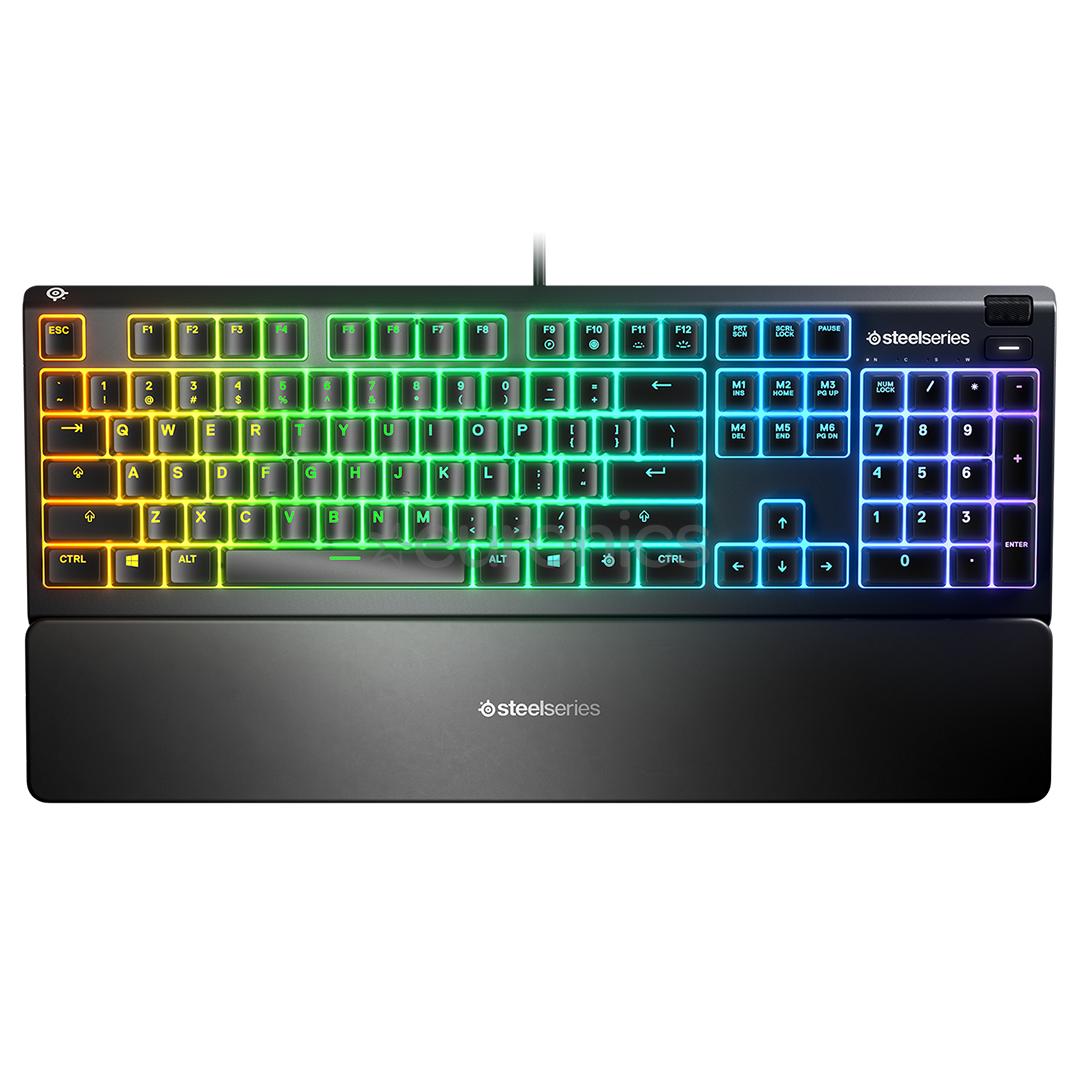 Игровая клавиатура Steelseries Apex 3 RU (64805)