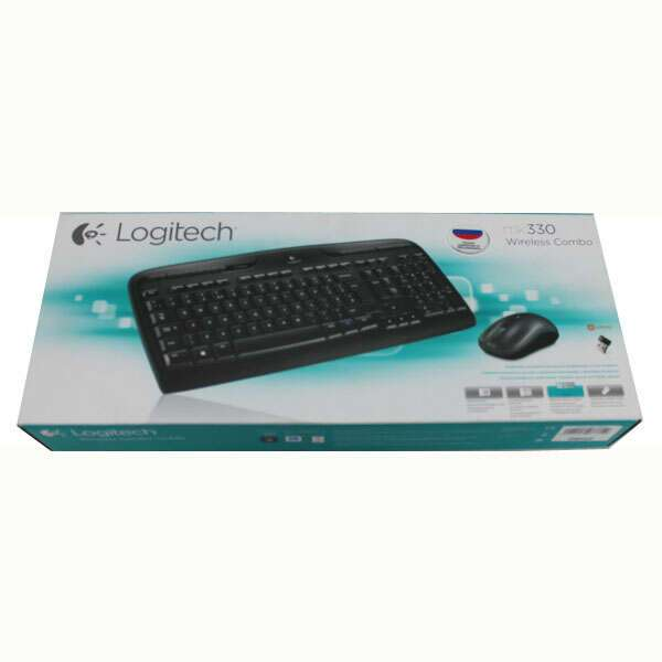 Клавиатура + Мышь беспроводная Logitech Wireless Combo MK330