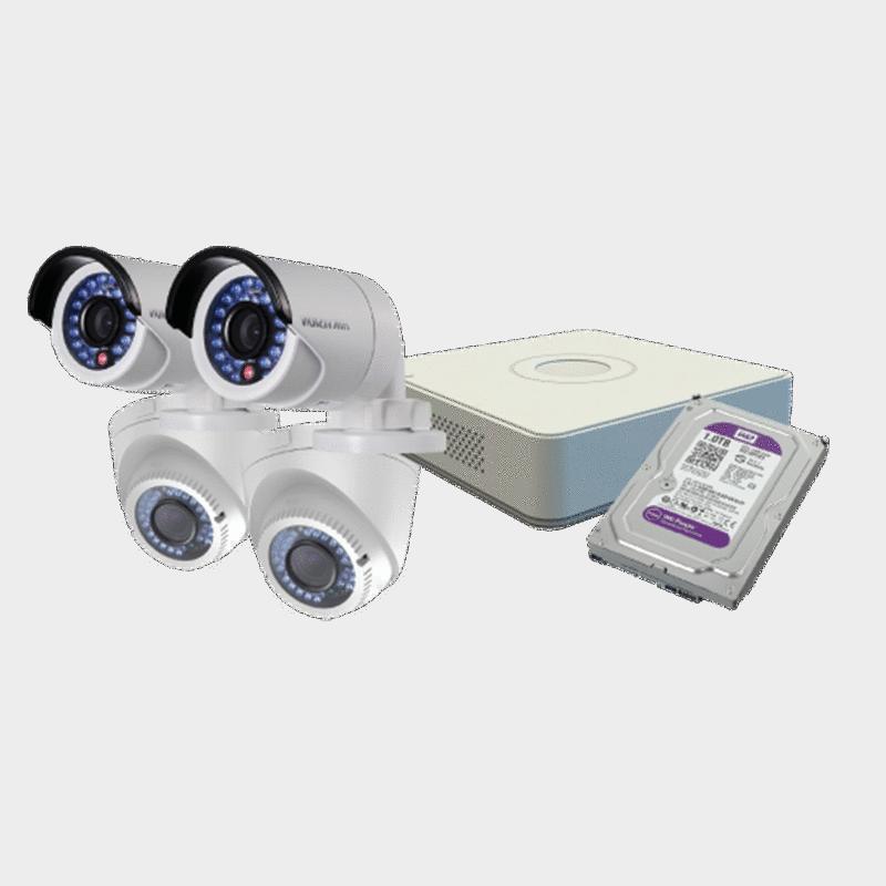 Комплект видеонаблюдения Hikvision DS-J142I-2