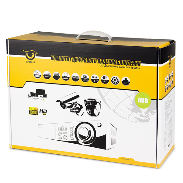 Комплект AHD видеонаблюдения EAGLE EGL-AS4008B-BVH-304