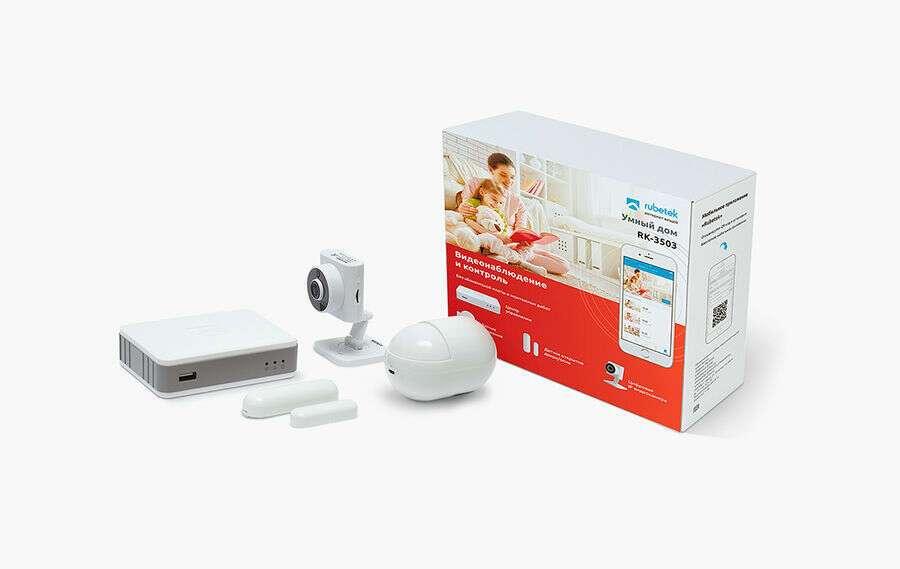 Комплект видеонаблюдения RUBETEK RK-3503