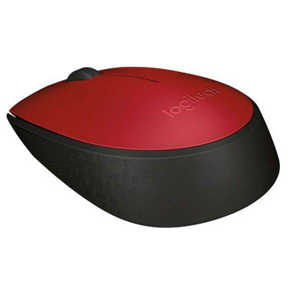 Беспроводная мышь Logitech M171 Red (910-004641)