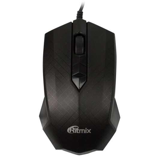 Проводная мышь Ritmix ROM-202 black