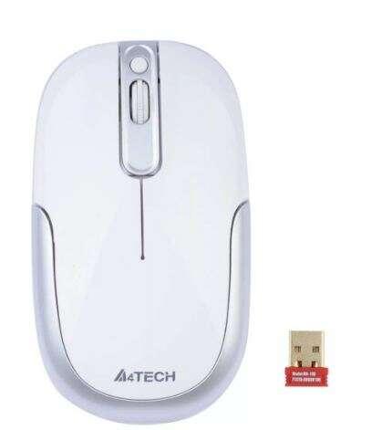 Мышь беспроводная A4tech G9-110H WHITE