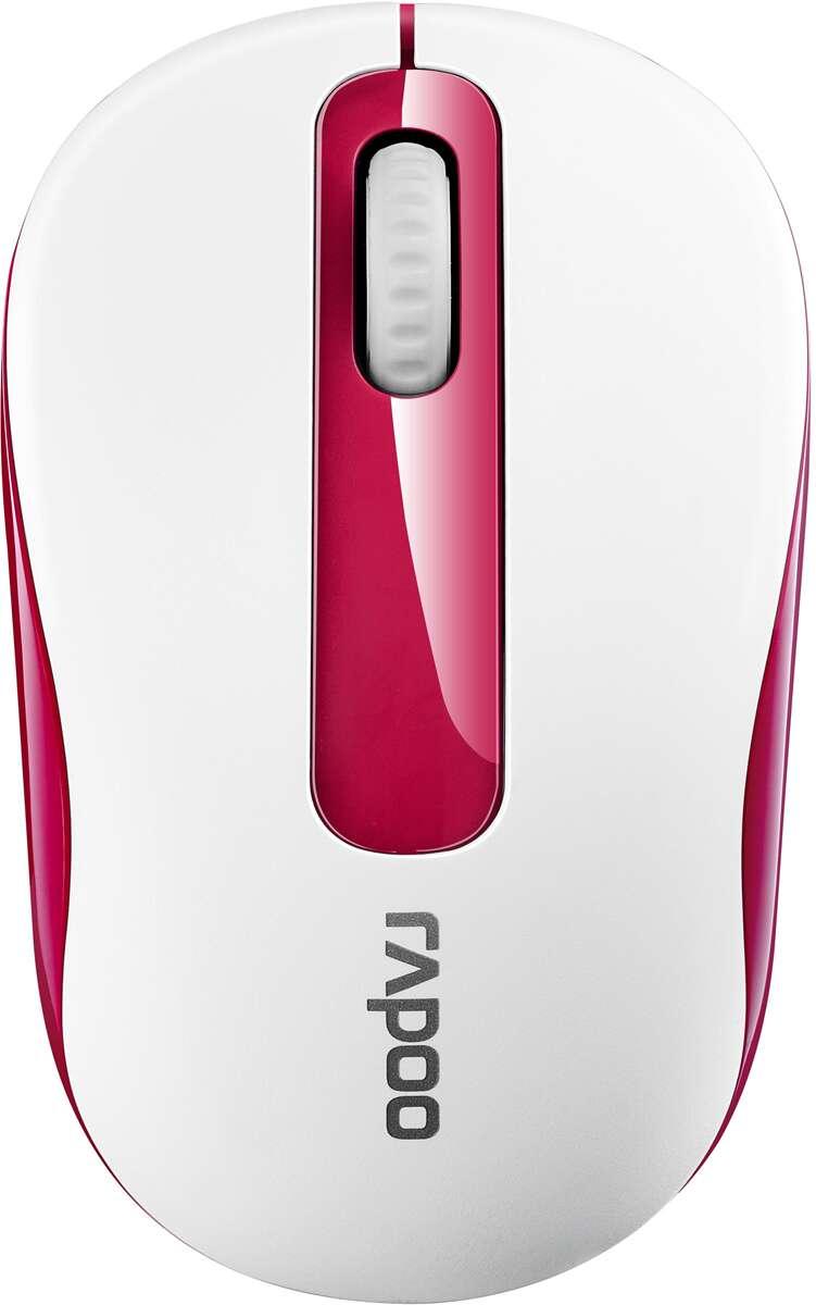 Беспроводная мышь Rapoo M10, White/Red