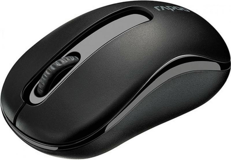 Беспроводная мышь Rapoo M10 Plus Black