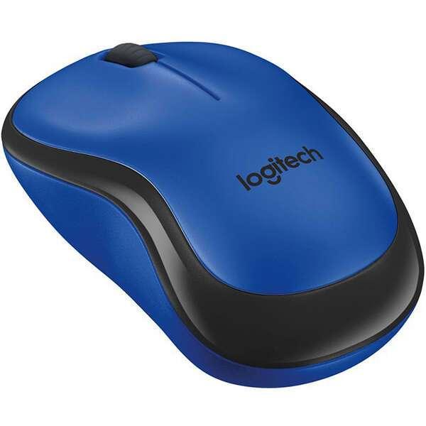 Беспроводная мышь Logitech M220 Silent Blue