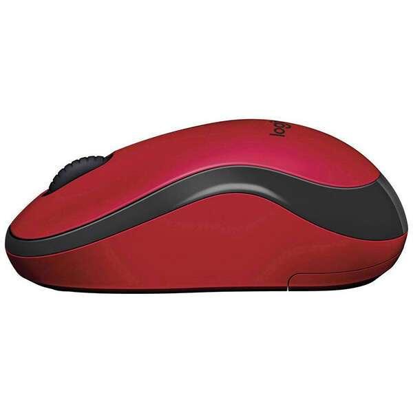 Беспроводная мышь Logitech M220 Silent Red