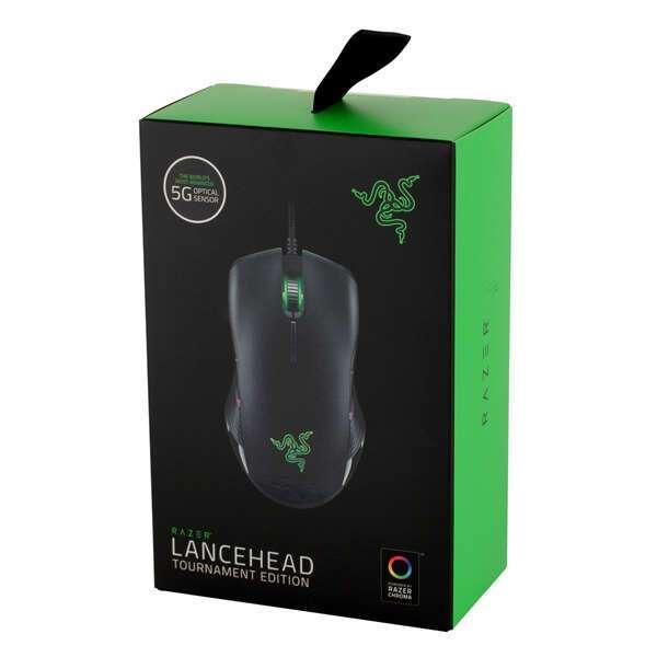 Мышь игровая проводная Razer Lancehead Tournament RZ01-02130100-R3G1