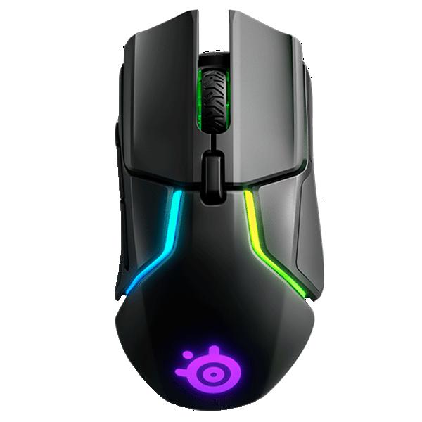 Мышь игровая беспроводная SteelSeries Rival 650 Wireless, 62456, Подсветка RGB, Чёрная
