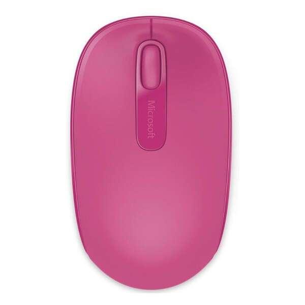 Мышь беспроводная Microsoft 1850 Magenta Pink (U7Z-00065)