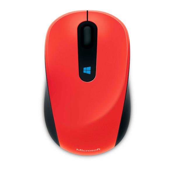 Мышь беспроводная Microsoft Sculpt Mobile Flame Red (43U-00026)