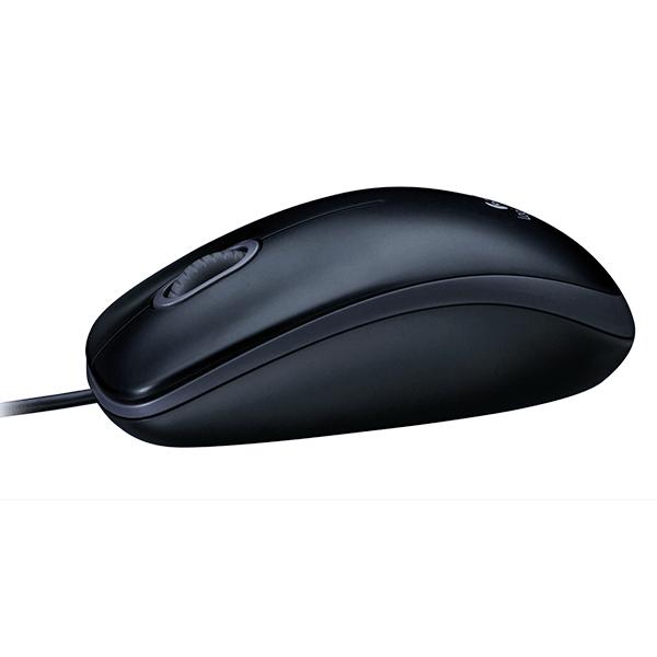 Мышь проводная Logitech M100 Grey