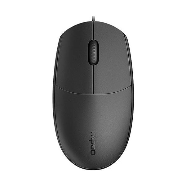 Мышь проводная Rapoo N100 Чёрный
