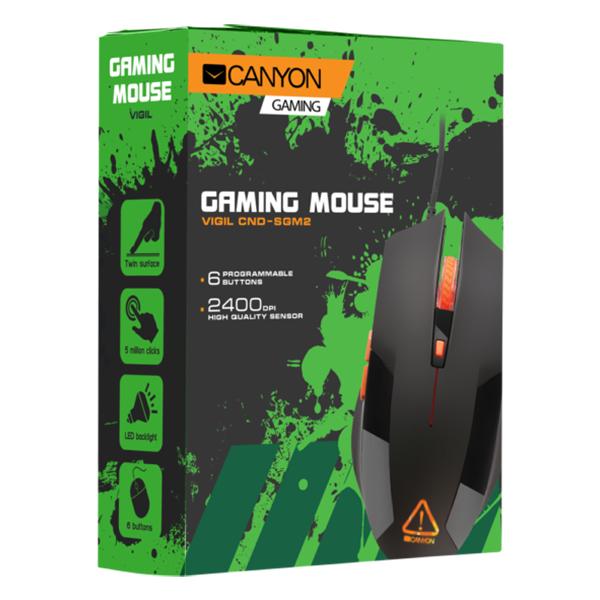 Мышь игровая проводная Canyon CND-SGM2