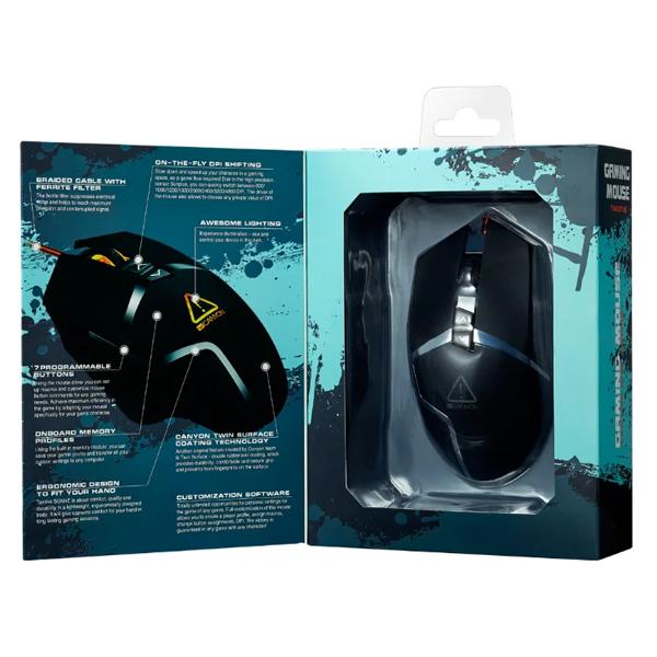 Мышь игровая проводная Canyon CND-SGM4E