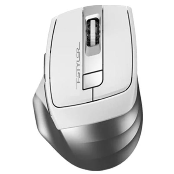 Мышь беспроводная A4tech Fstyler FB-35 Silver-IcyWhite