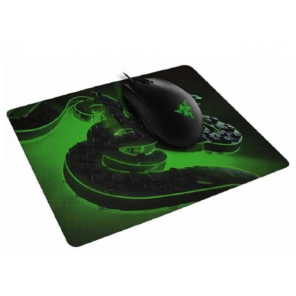 Мышь игровая проводная и коврик Razer Abyssus Lite & Goliathus Mobile Construct Ed. Bundle RZ83-02730100-B3M1