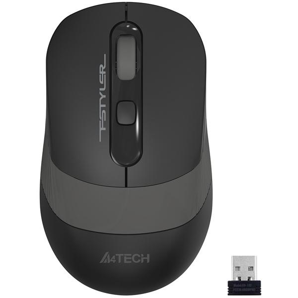 Мышь беспроводная A4tech Fstyler FG-10 Grey