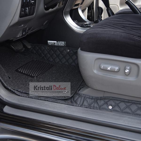Коврики Kristall-auto Land Cruiser Prado 120 2003-2009/Lexus GX470 2003-2009 черный