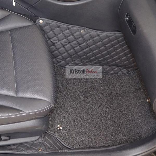 Коврики Kristall-auto Toyota Land Cruiser Prado 150 2009-2019/Lexus GX460 2009-2019 черный