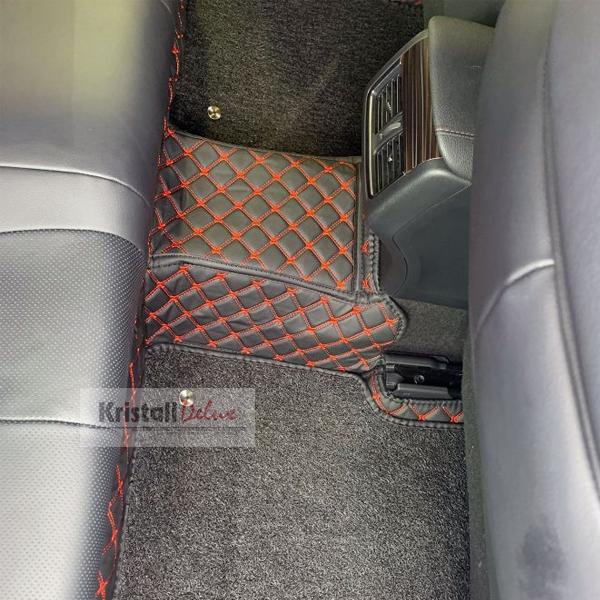 Коврики Kristall-auto Toyota Land Cruiser Prado 150 2009-2019/Lexus GX460 2009-2019 Черн/красн.